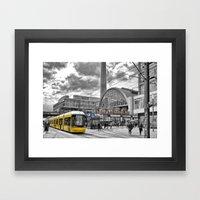 Berlin Alexanderplatz Framed Art Print