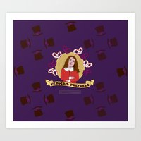 Veruca Salt - Pattern Art Print