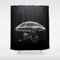Cat & Dog Shower Curtain