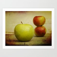Apple pies Art Print
