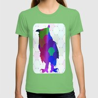 Who Are You Womens Fitted Tee Grass SMALL