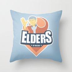 Elders of Vulcan Throw Pillow