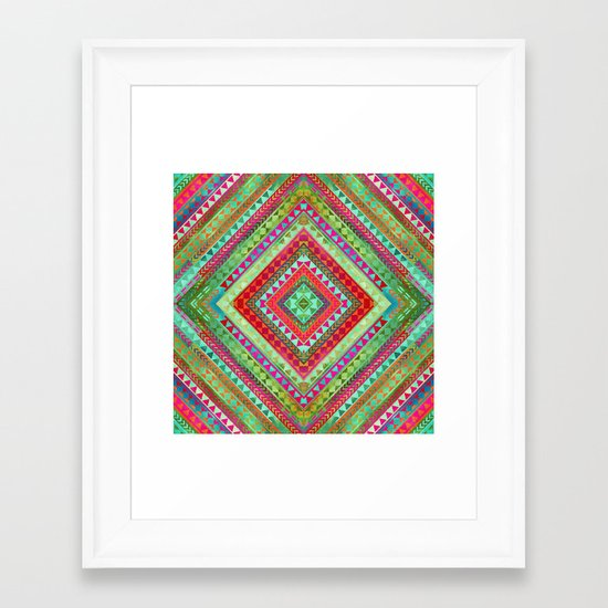Rhythm IV Framed Art Print