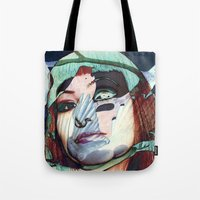 ELISA_GLITCH_IN THE SKY … Tote Bag