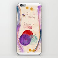 Painting & Coldplay iPhone & iPod Skin