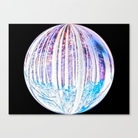 Black Hole Within Canvas Print