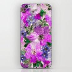 Splendid Flowers iPhone & iPod Skin