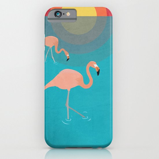 Flamingos iPhone & iPod Case