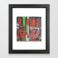 Scars Framed Art Print