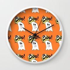 Ghosts Say Boo Wall Clock