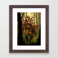 Kvothe Framed Art Print
