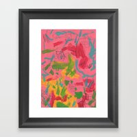 Abstract 138 Framed Art Print