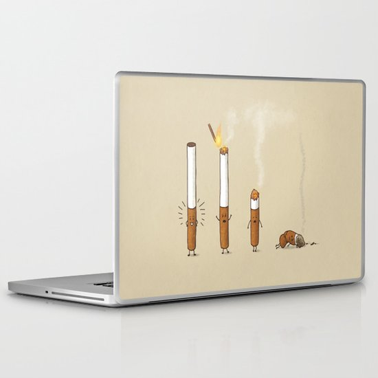 Smoking Kills Laptop & iPad Skin