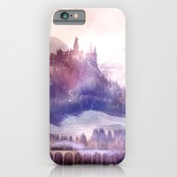 iPhone Cases featuring The Wizarding World by Tanguy Leysen
