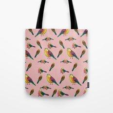 Cosmic Birds Tote Bag