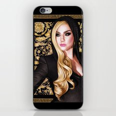 Mother Monster - Versace iPhone & iPod Skin