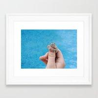 Itsy Bitsy Teeny Tiny Framed Art Print