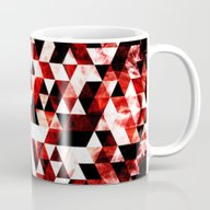 Triangle Geometric Vibra… Mug