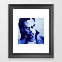 Mr Cave Framed Art Print