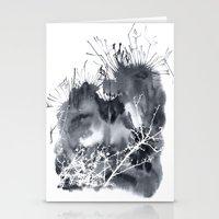 grey sky Stationery Cards