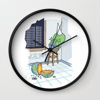 Shallow Ones 2 Wall Clock