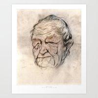 Andrew Wyeth Portrait Art Print