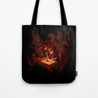 Draw Your Weapon Tote Bag