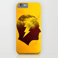 iPhone & iPod Case featuring Brainstorm by rob dobi