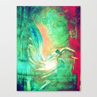 For the love of Antinous Canvas Print