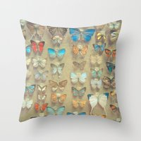 The Butterfly Collection… Throw Pillow