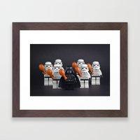 Happy Thanksgiving Framed Art Print