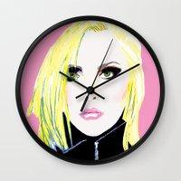 Debbie Harry  - Blondie … Wall Clock
