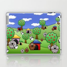 Billy, Bob & Fido.  Laptop & iPad Skin