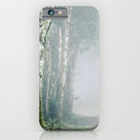 iPhone & iPod Case featuring Foggy Trails by Loaded Light Photography