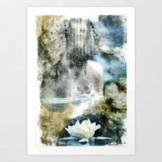 She. Art Print
