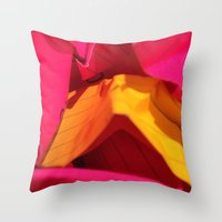 Card Pop Throw Pillow