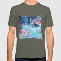 Dragon Erupt Mens Fitted Tee Lieutenant SMALL