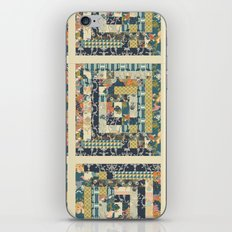 Art Deco Patchwork iPhone & iPod Skin