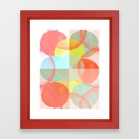 Marshmallows Framed Art Print
