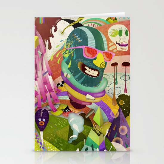 The Circus #02 Stationery Card