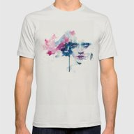 Garden In The Ceiling Mens Fitted Tee Silver SMALL