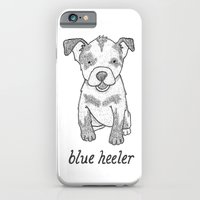 Dog Breeds: Blue Heeler/Australian Cattle Dog iPhone 6 Slim Case