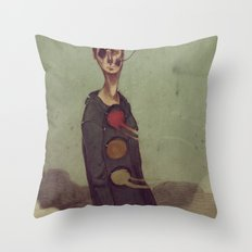 You Must Keep Going Throw Pillow