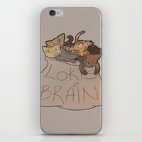 Loki's Brain iPhone & iPod Skin