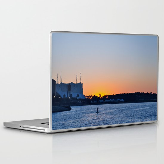 Downtown Disney Sunset II Laptop & iPad Skin