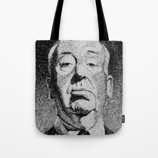 Fingerprint - Hitchcock Tote Bag