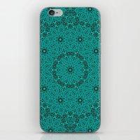 Beautiful Mandala In Tea… iPhone & iPod Skin