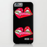 iPhone & iPod Case featuring Kiss ME! by NIXA
