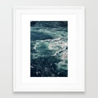 Whirling Framed Art Print
