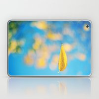 Yellow & blue Laptop & iPad Skin